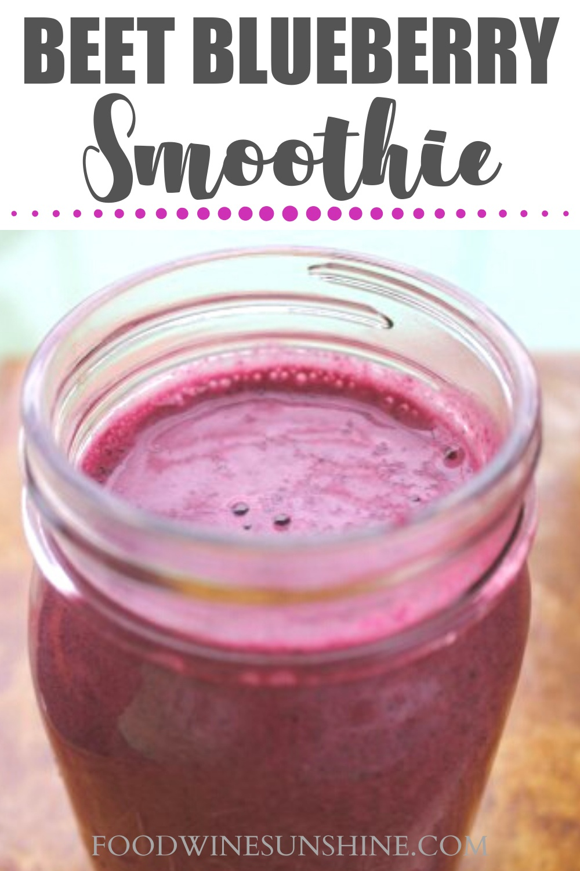 best beet blueberry smoothie
