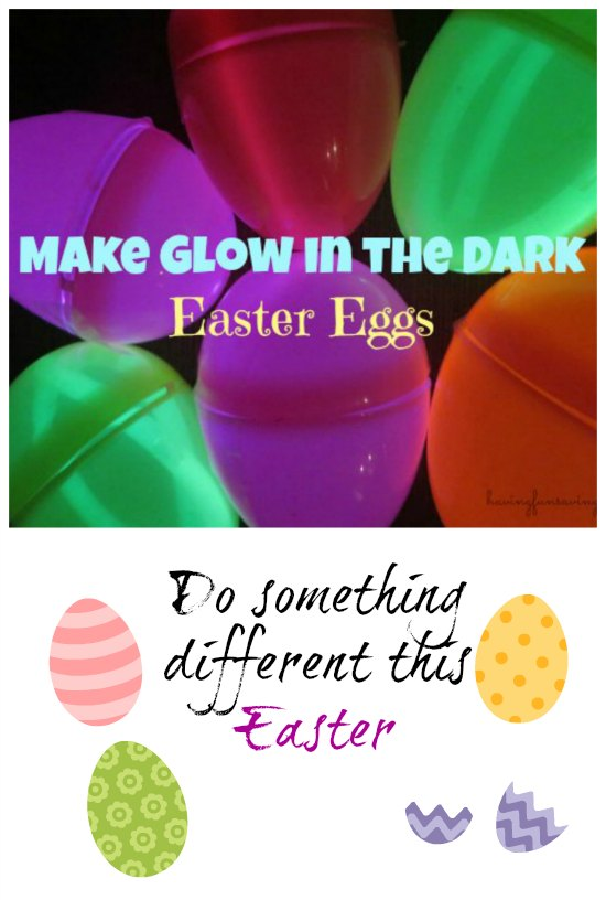 Easy Glow In The Dark Easter Eggs