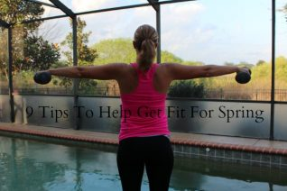 Tips to help get fit for Spring