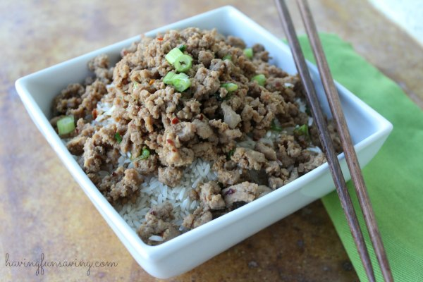 Korean Beef with Rice
