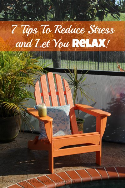 Tips to help you relax and handle stress