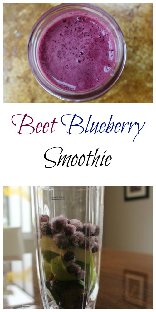 Beet Blueberry Smoothie Recipe