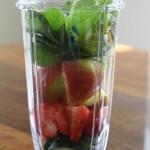 Strawberry Apple Green Smoothie