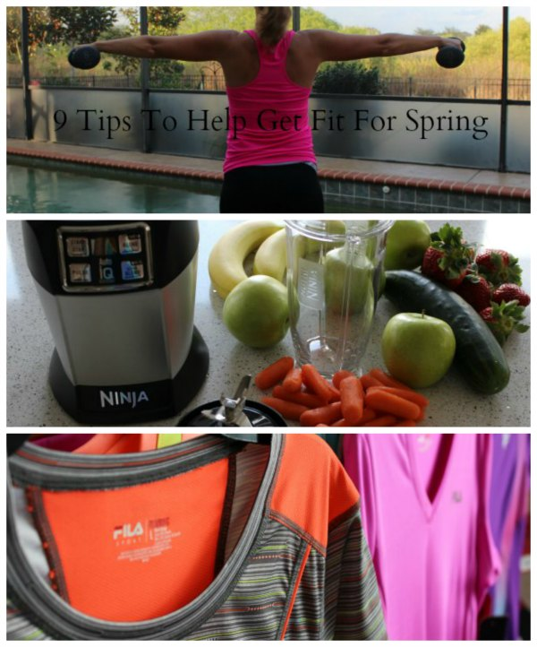9 Tips To Help Get Fit For Spring on Food Wine Sunshine