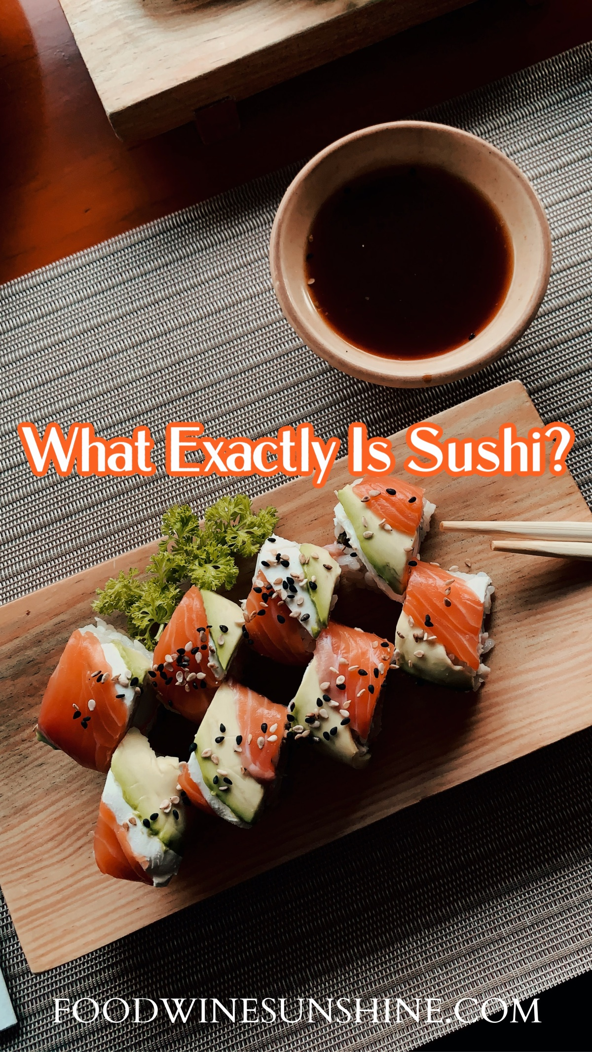 what is sushi