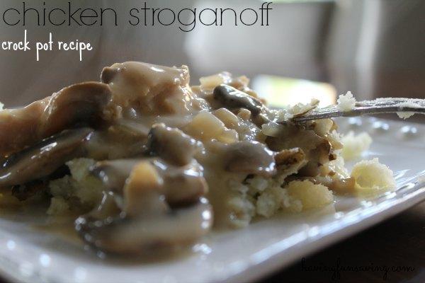 Chicken Stroganoff Recipe