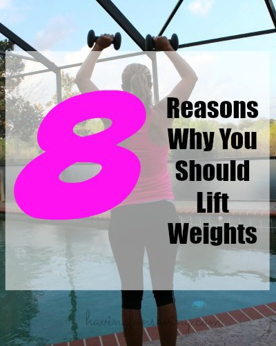 Reasons why you should lift weights