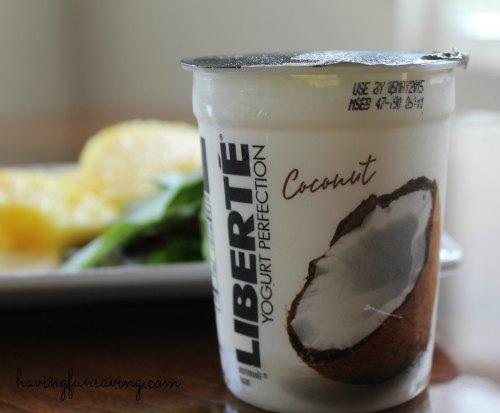 Liberte coconut yogurt