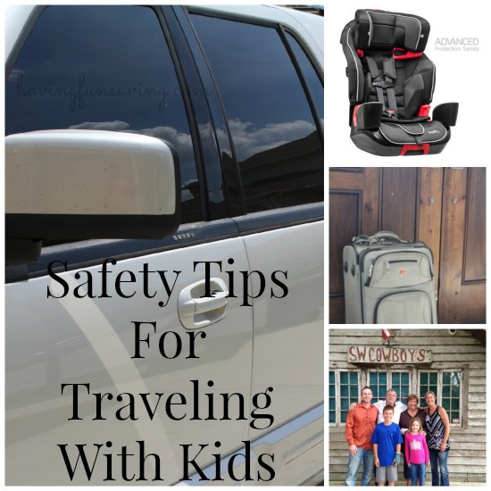 Safety Tips For Traveling With Kids