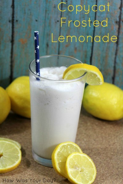 Copycat frosted lemonade recipe