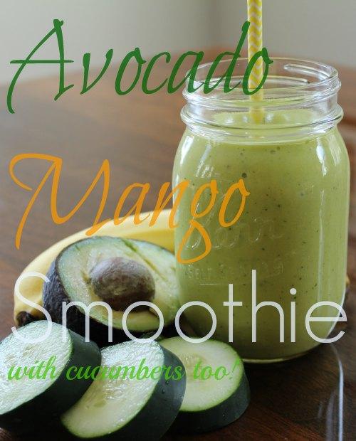 Avocado Mango Smoothie Recipe