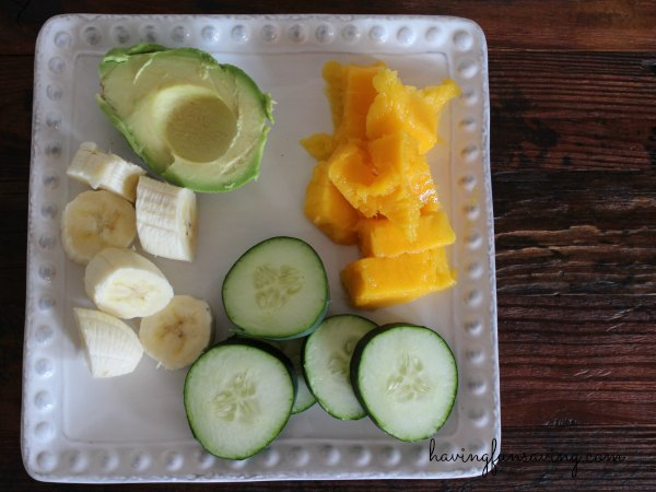 Healthy Avocado Mango Smoothie