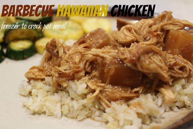 Barbecue Hawaiian Chicken