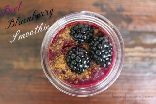 Beet Blackberry Smoothie