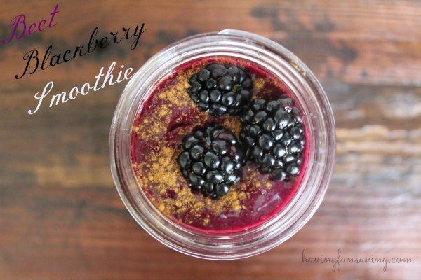 Blackberry Beet Protein Smoothie