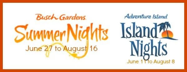 Busch Gardens Summer Nights 2015