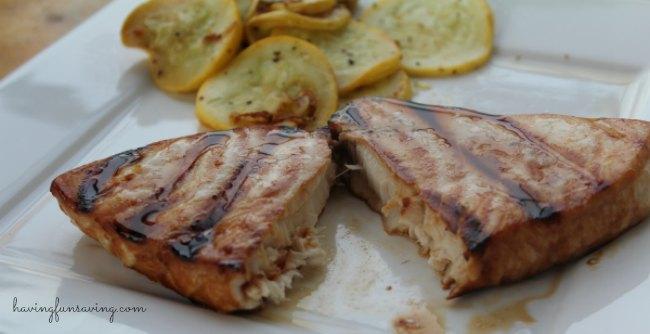 Citrus Marinade Grilled Swordfish
