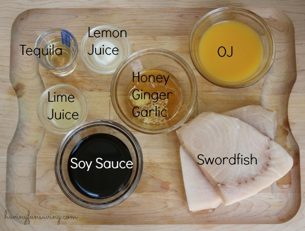 Best Citrus Marinade for Grilled Swordfish