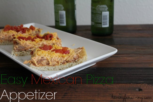 Mexican Pizza Appetizer