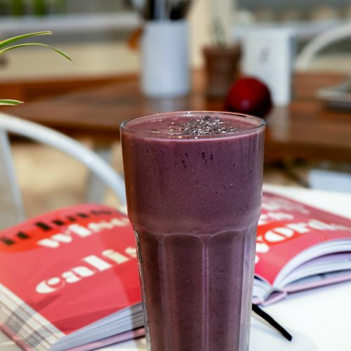 Carrot Blueberry Smoothie