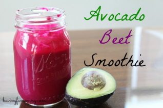 Avocado Beet Smoothie