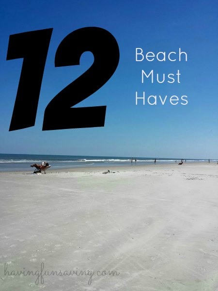 12 Beach Must Haves