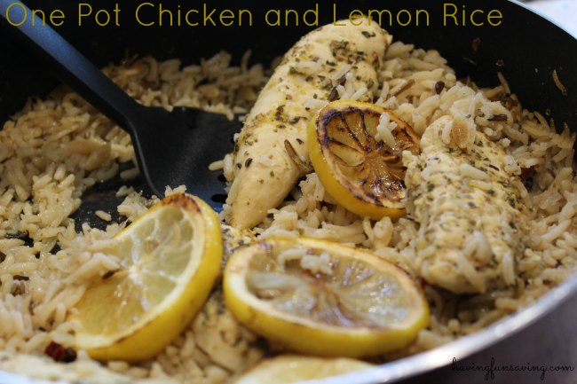 One Pot Chicken and Lemon Rice
