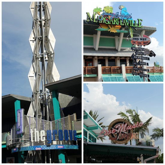 Dance clubs at Universal Orlando