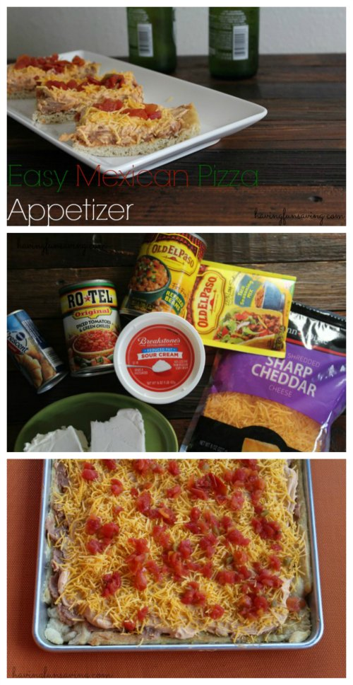Easy Mexican Pizza Appetizer