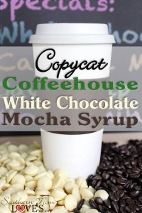 Copycat Coffeehouse White Chocolate Mocha Syrup Recipe