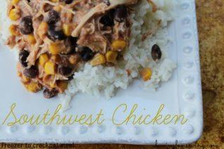 Slow Cooker Southwest Chicken