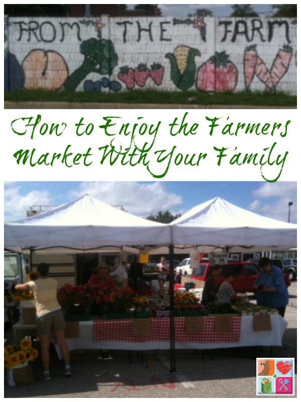Enjoying the Farmers Market With The Family