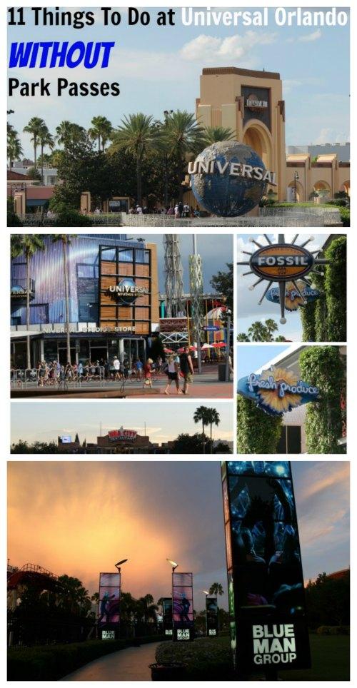 Things To Do at Universal Orlando Resort Without Park Passes