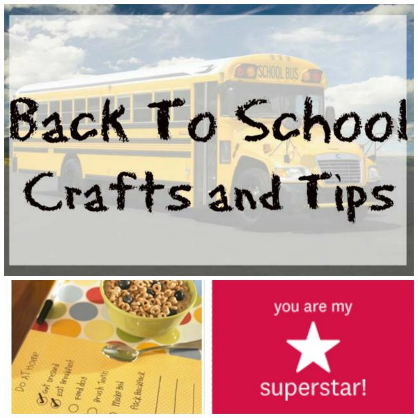 Back to School Crafts and Tips on Food Wine Sunshine