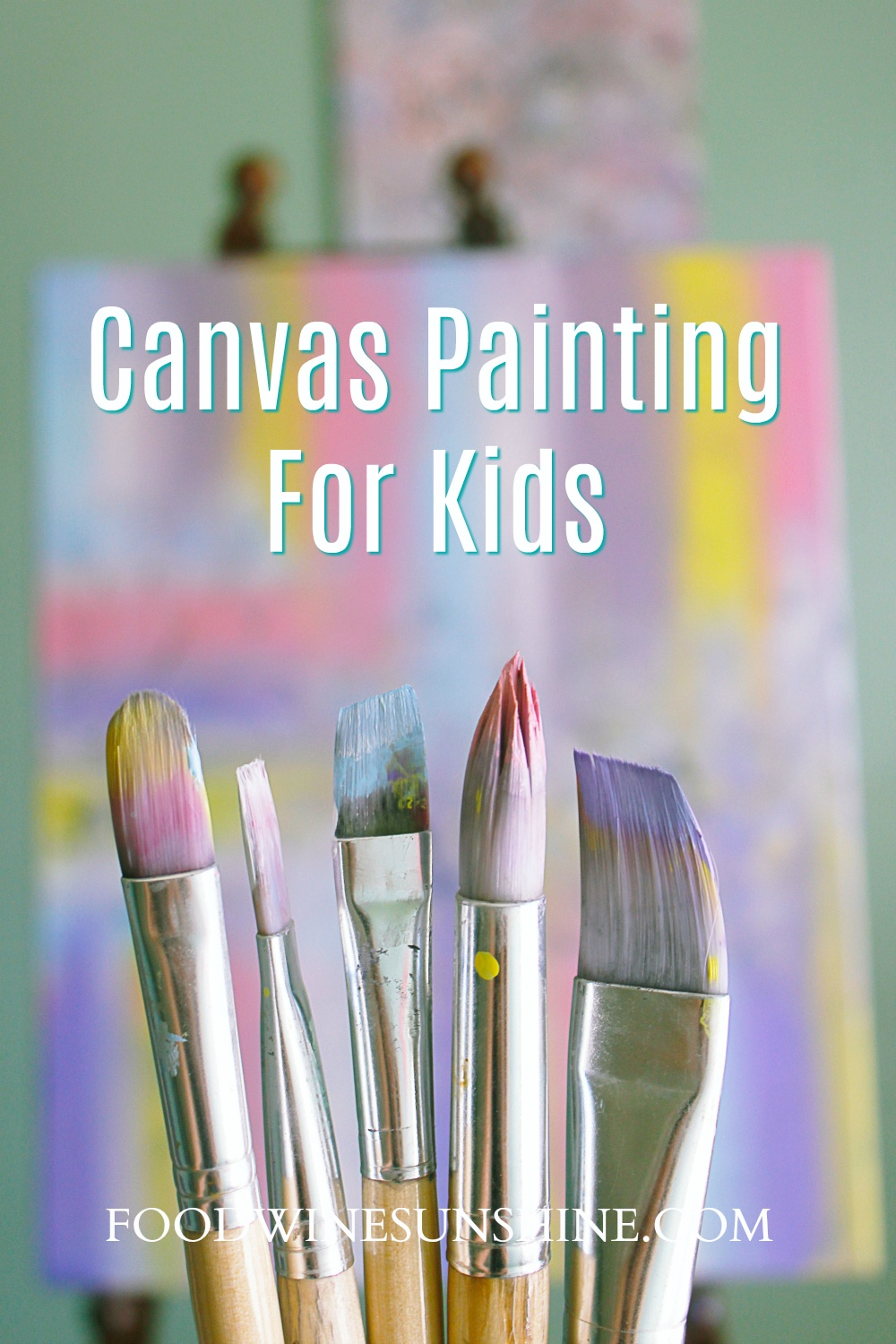 How To Canvas Paint For Kids