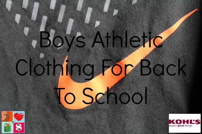Boys Athletic Clothing For Back To School