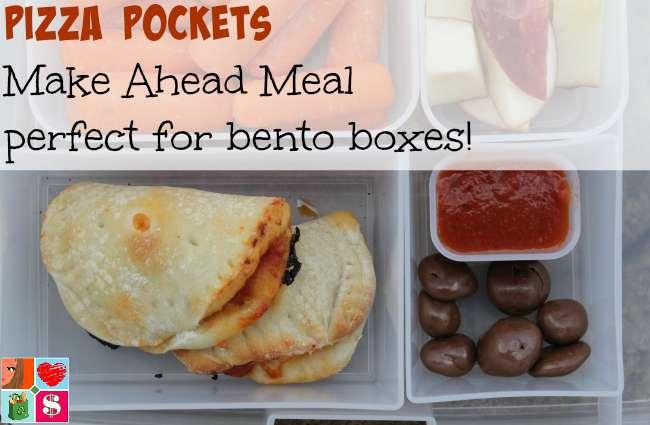 Mini Pizza Pockets recipe