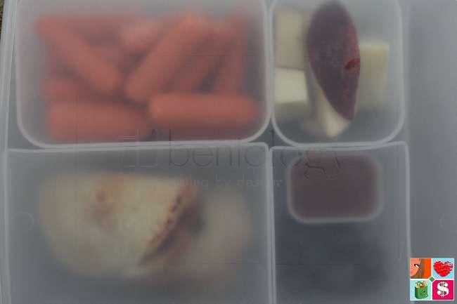 Mini Pizza Pockets Recipe for Bento Boxes