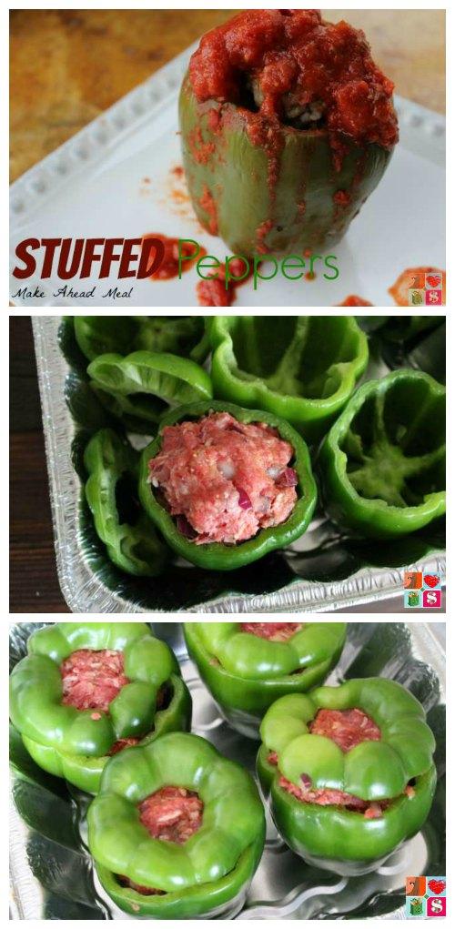 Make ahead Stuffed Peppers Recipe