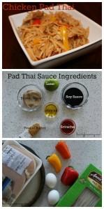 Chicken Pad Thai Recipe on Food Wine Sunshine