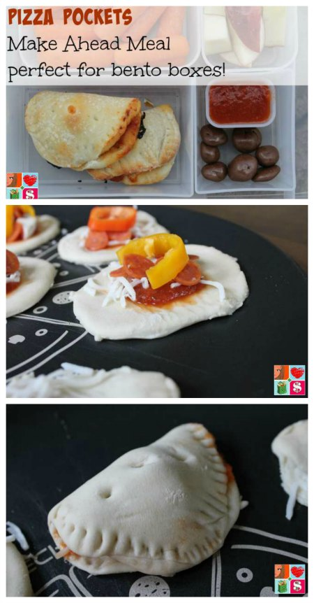 Mini Pizza Pockets Recipe on Food Wine Sunshine