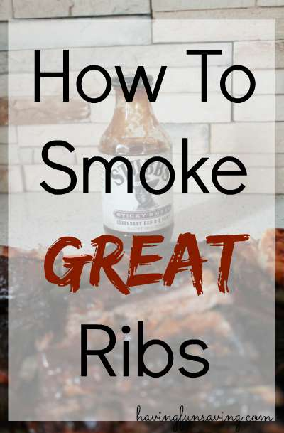 How To Smoke Ribs