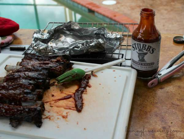 Easiest Smoked ribs