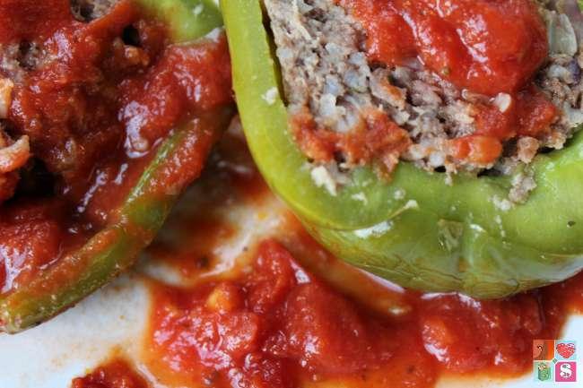 Yummy stuffed peppers recipe