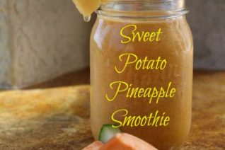 Sweet Potato Pineapple Smoothie Recipe