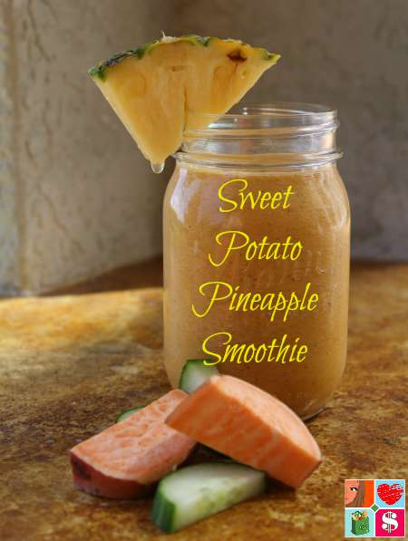 Sweet Potato Pineapple Smoothie