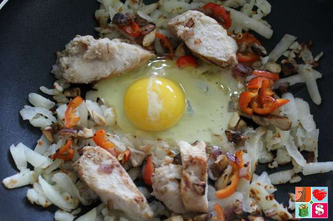 Chicken Breakfast Skillet Recipe