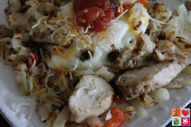 Easy Chicken Breakfast Skillet Recipe