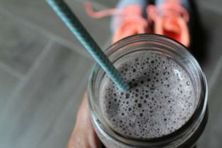 Blueberry Cucumber Protein Smoothie Recipe