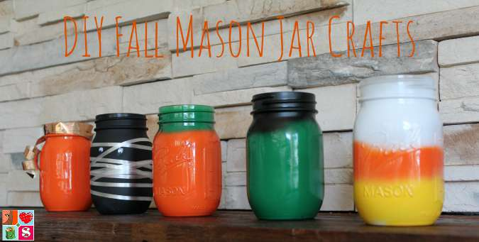 DIY Fall Mason Jars